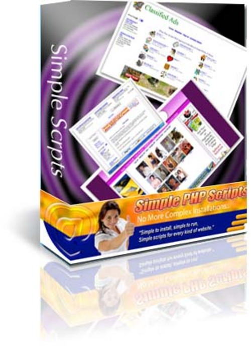 Product picture Simple PHP Scripts / Master Resell Rights Combo Pack -
