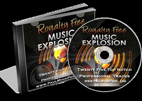 Product picture Royalty Free Music Explosion