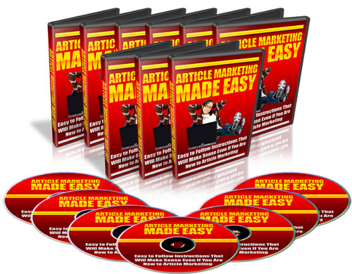 Product picture Article Marketing Made Easy (mrr)