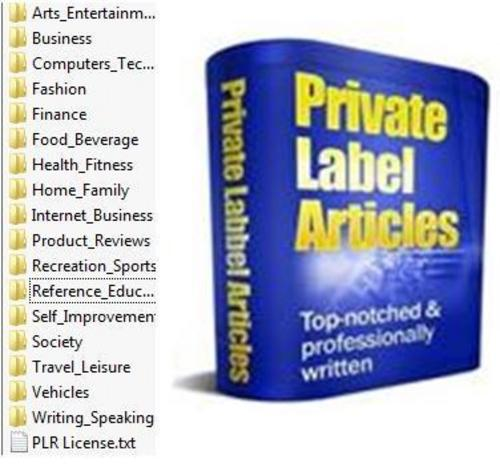 Product picture 100000  Private Label Articles Pack