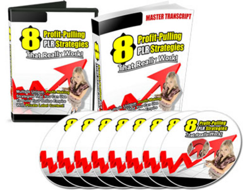 Product picture 8 Profit Pulling Plr Strategies With Resale Rights